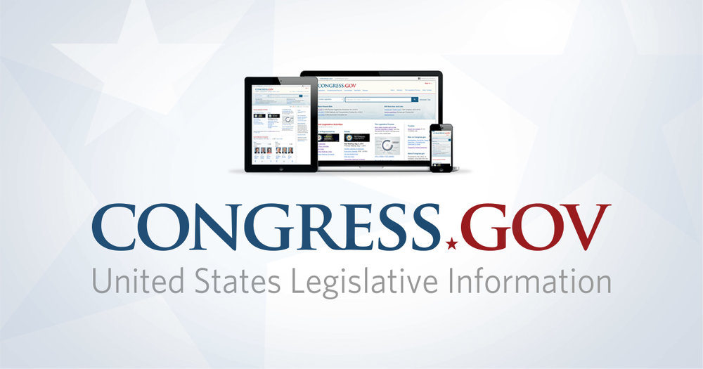 Congress.gov- a useful site for tracking US legislation    Search Congress.gov  by bill number or topic to find relevant OT legislation   Consider searching bills listed in the AOTA Legislative Action Center
