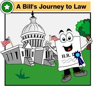 How a Bill Becomes a Law   Click:  Crash Course Video  or  Easy-to-Read Handout