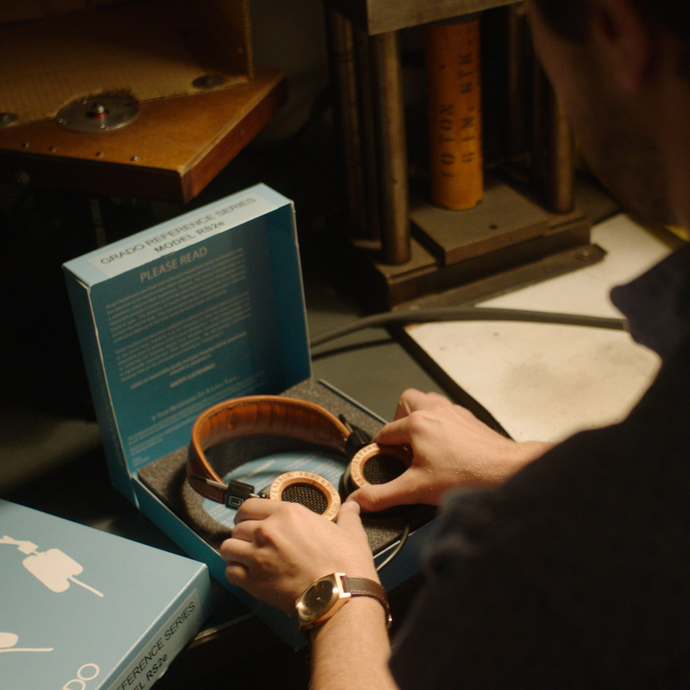 Taking Pride in Small Business Success - When choosing the small businesses our team wanted to work with we decided the range of unique products to feature in the box and meet the creators behind the products. One of our businesses, Grado Headphones let us tour their factory in Sunset Park, Brooklyn.