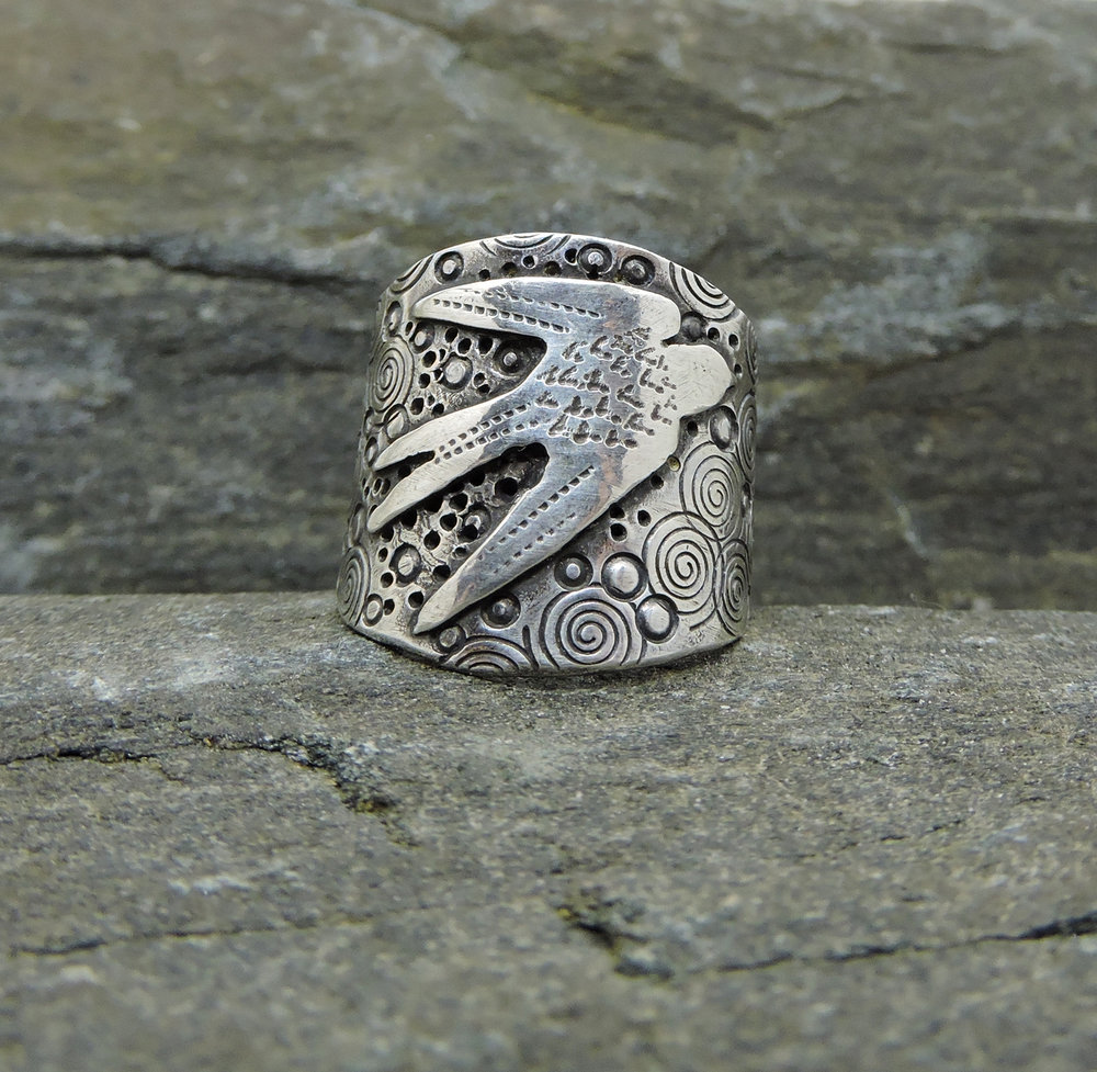 Swallow Ring  - Made to Order
