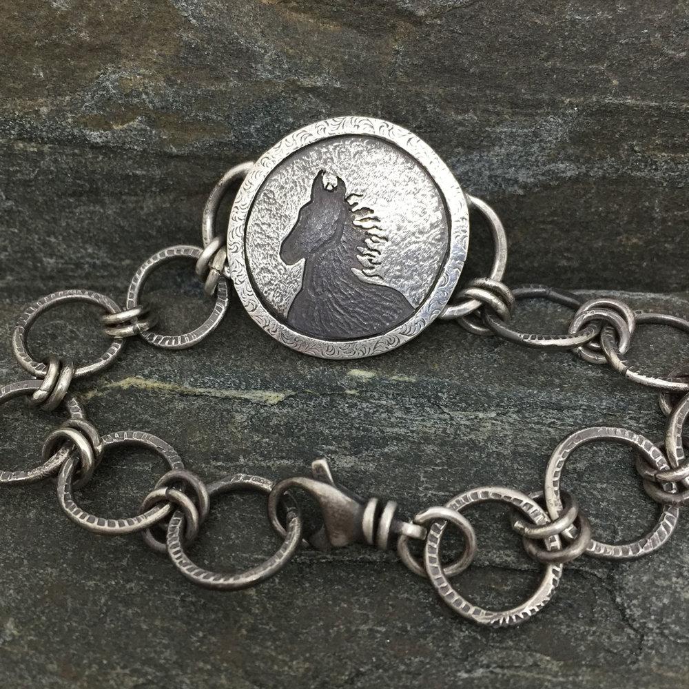 Wild Mustang Bracelet (Sold)