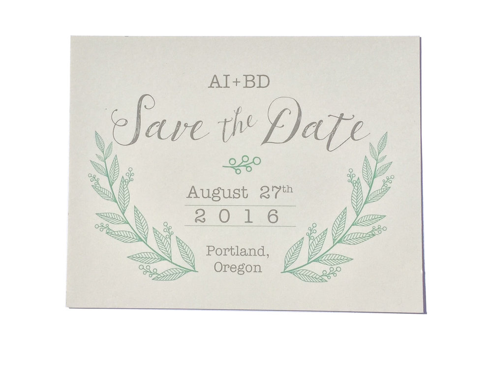 crave-design.com | Invitation Suite Designer | Portland Oregon Wedding Stationery and Save The Date Cards For Weddings and Parties | Crave Design