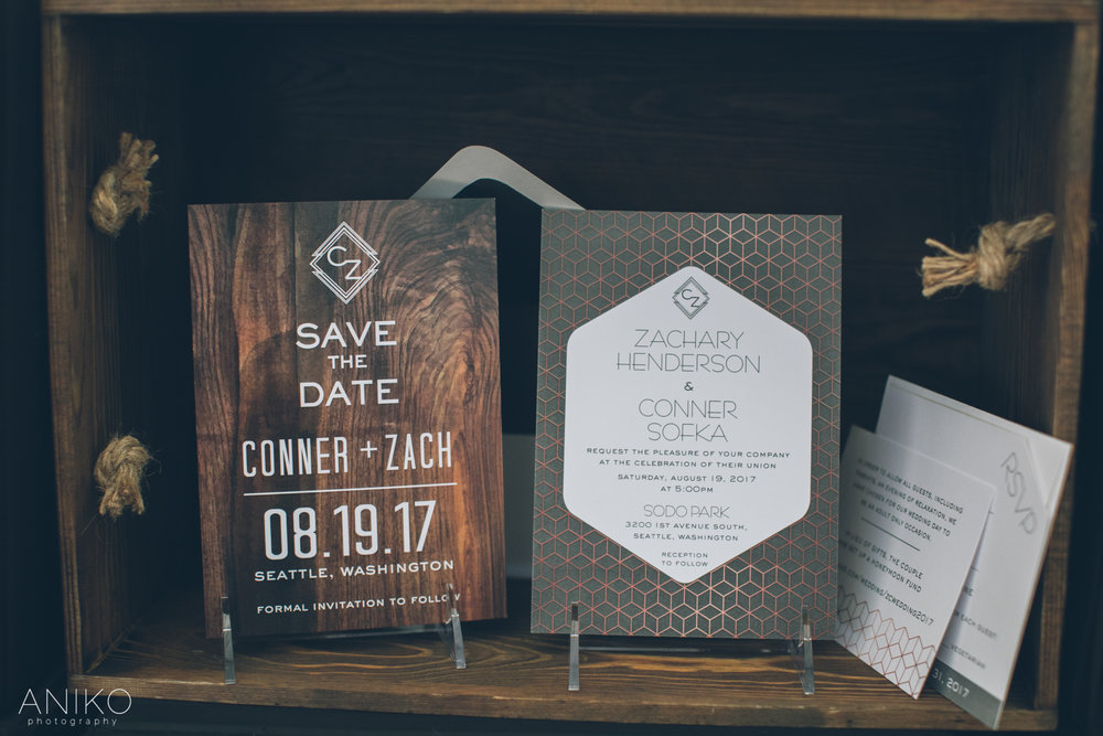 Oregon Golf Club | Crave Design | ANIKO Photography | Bridal Show | Open House | Invitations