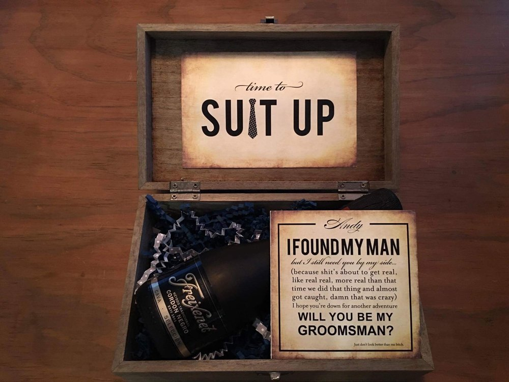 Bridesmaid Groomsmen Cards