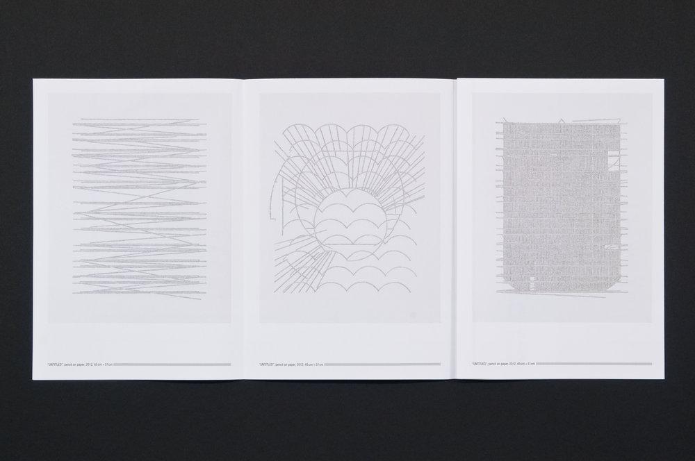Košice Drawings: Page 2, fanfold