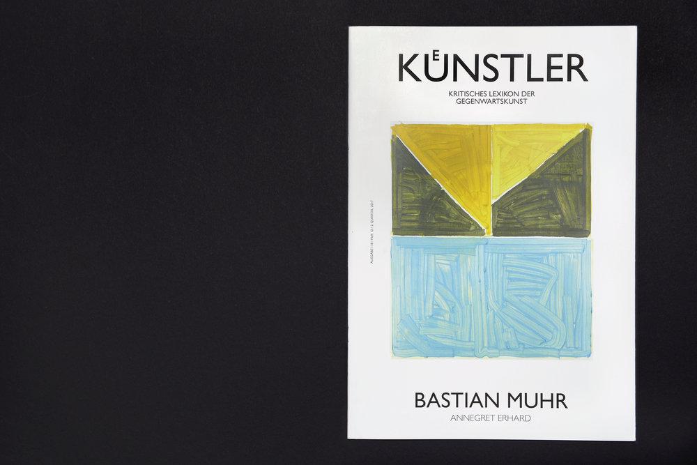 """""""Künstler"""" - Kritisches Lexikon der Gegenwartskunst: Cover"""