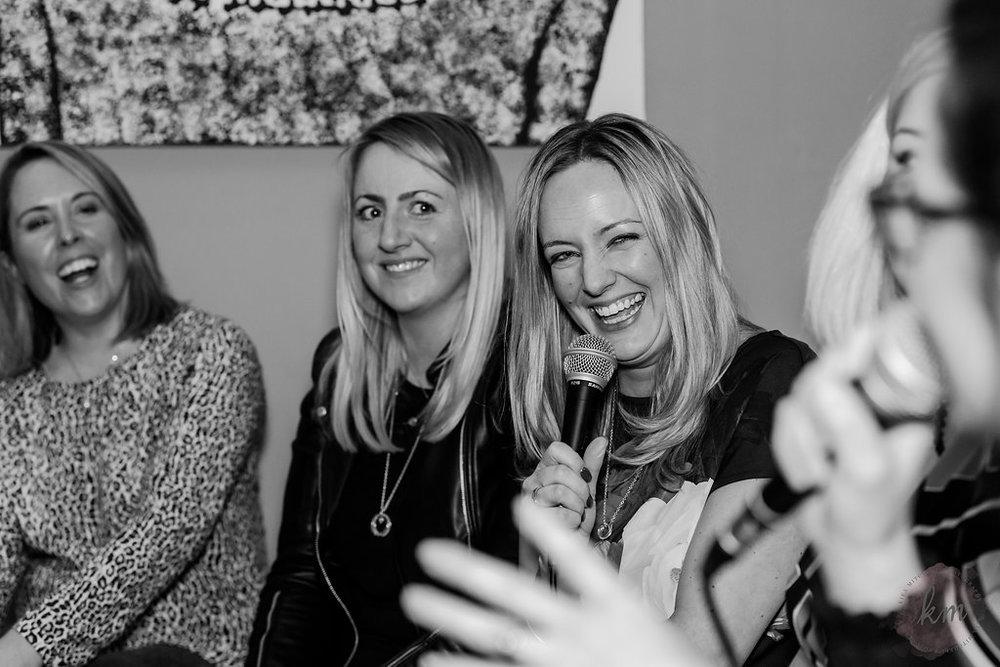 Hannah Wylie, Natalie Reynolds and Jess Clarke