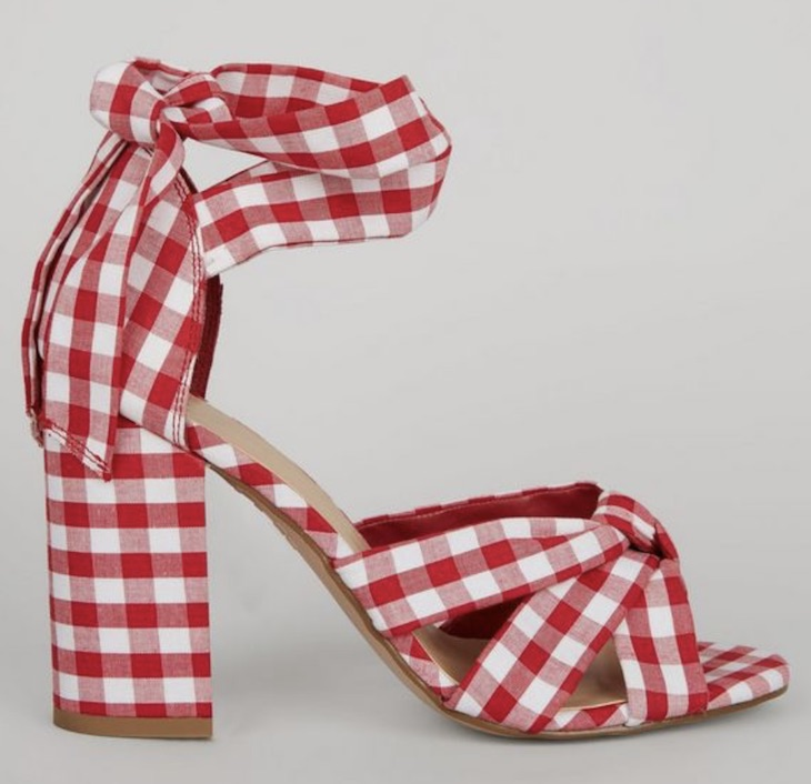 Gingham, £39.99, New Look