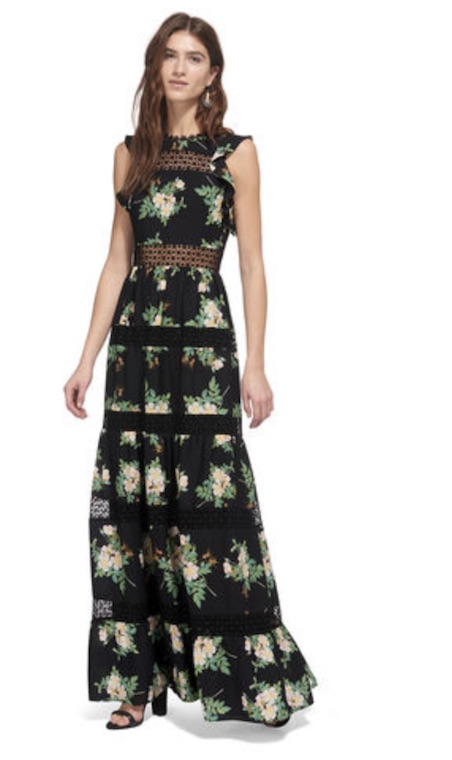 Floral Maxi, £375, Whistles