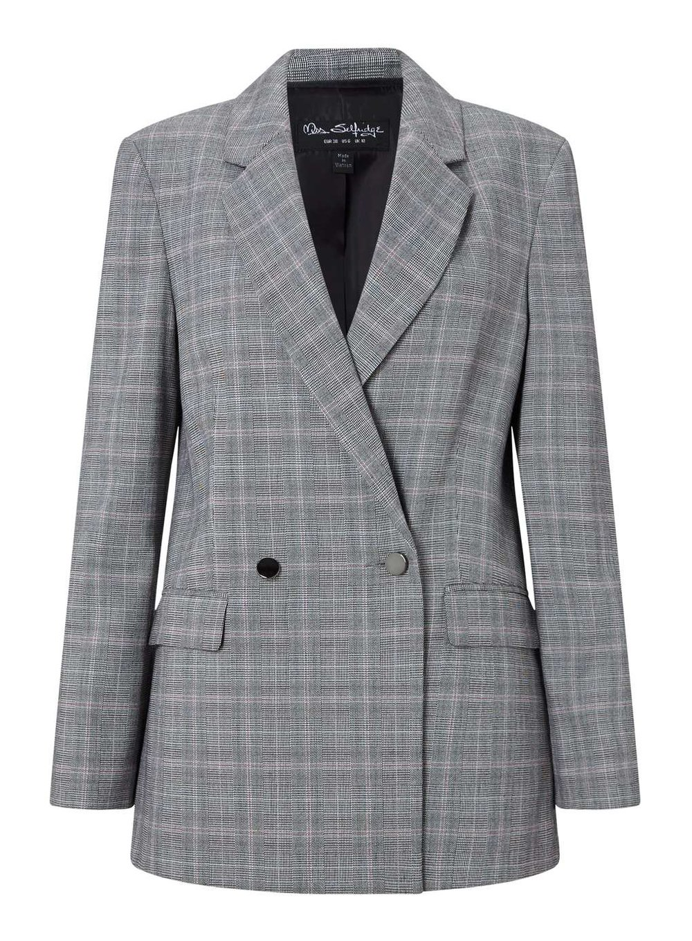 Blazer, £45, Miss Selfridge
