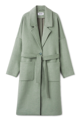Coat, £90, Weekday