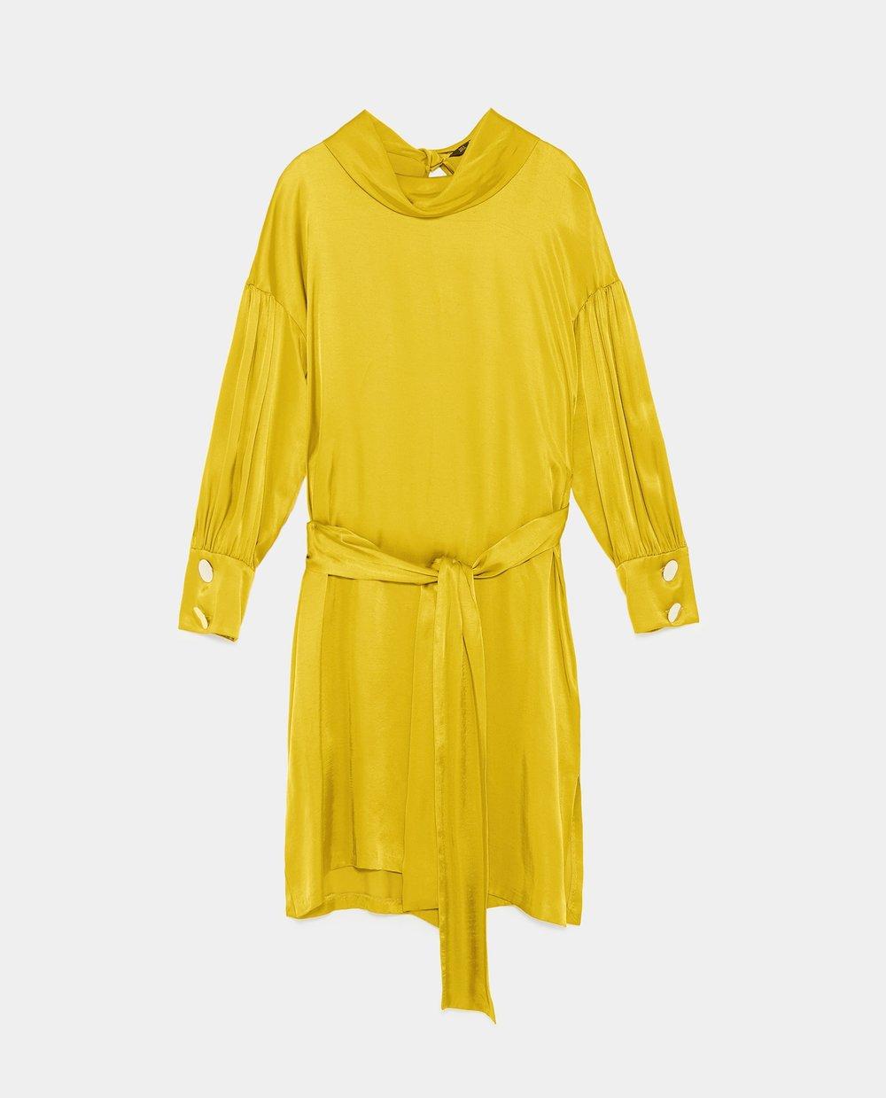 Dress, £39.99, Zara