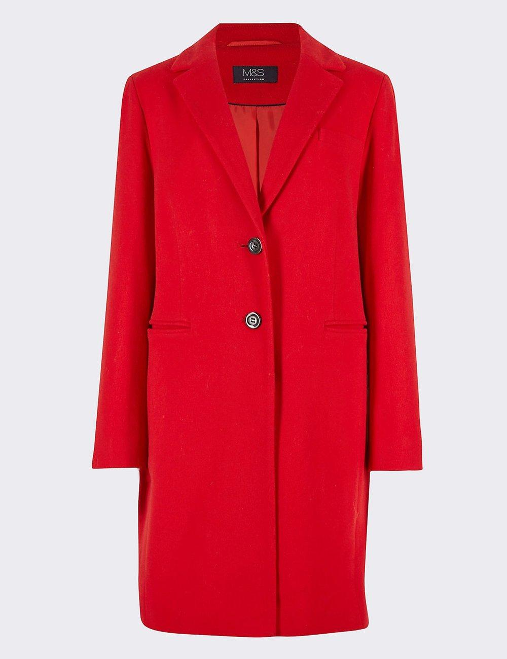 Coat, £119, M&S