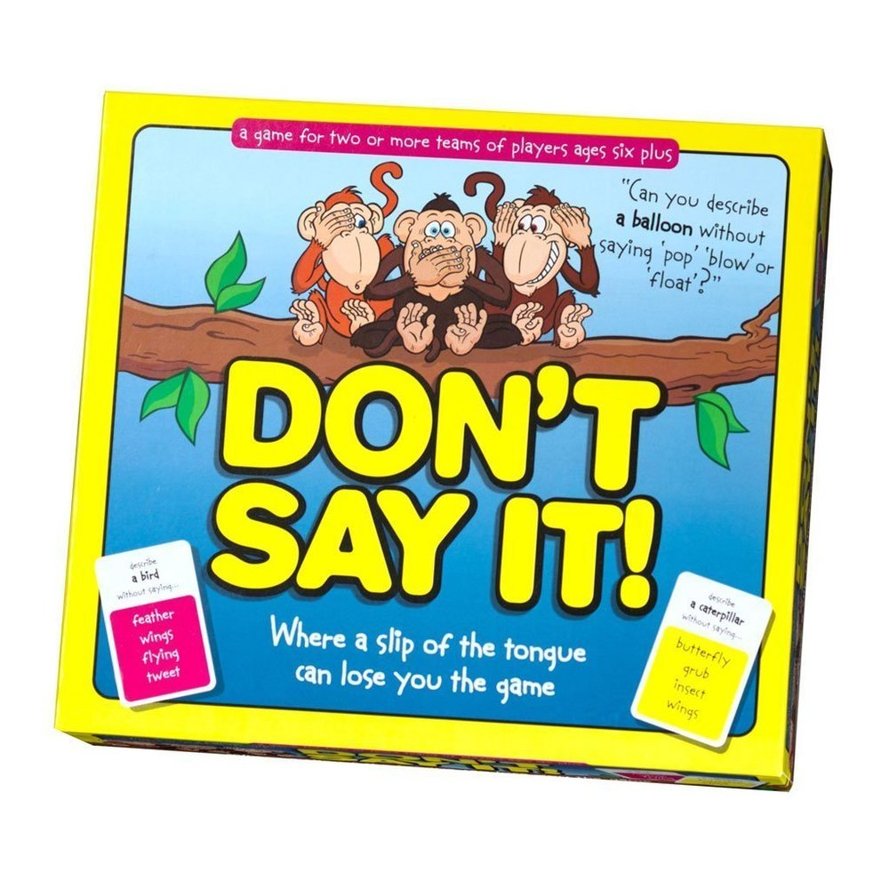 Don't Say it!, £8.99, Amazon