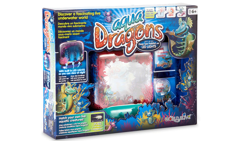 Illuminated Aqua Dragons Deluxe, £24.95, Wicked Uncle