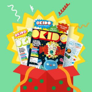 OKIDO Art and Science Magazine for kids, 1yr/10 Issue Christmas Gift Subscription, £35