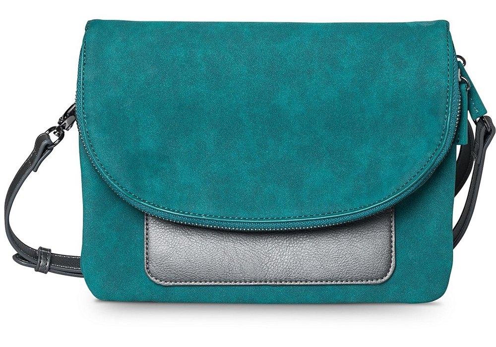Teal Nevah Contrast Pocket Cross Body Bag, £39.50, Oliver Bonas