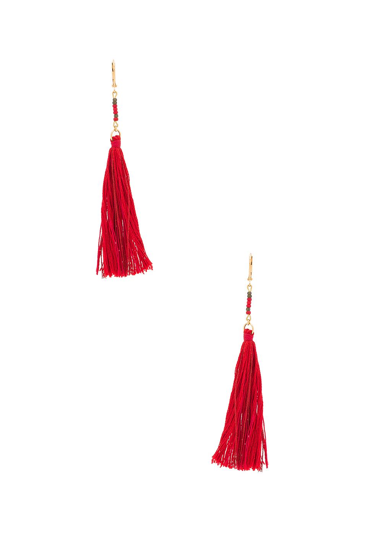 Shashi Carolina Tassle Earrings, £36.78, Revolve