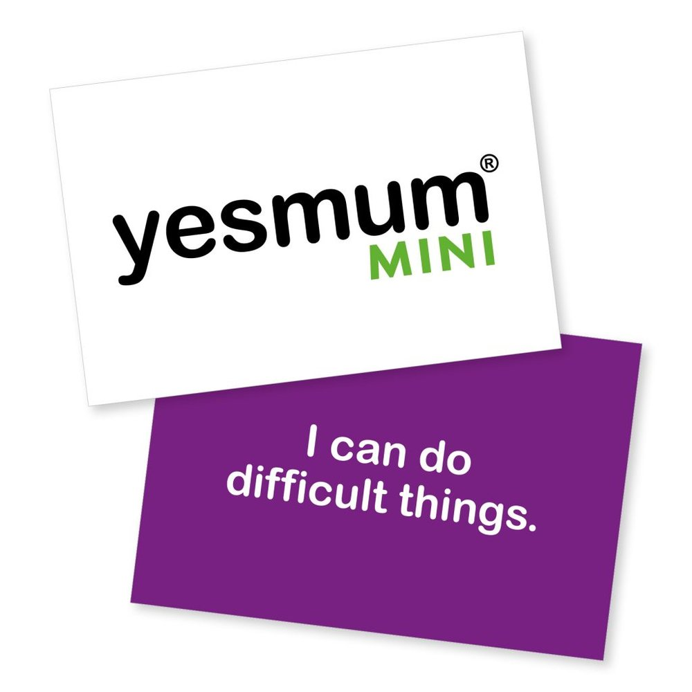 Yesmum Mini Pack of Card (Tiny fist pumps for amazing kids), £10.50