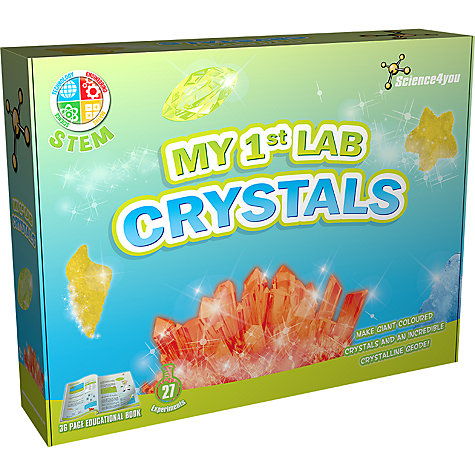 Science4you My 1st Lab Crystals £19.99, John Lewis