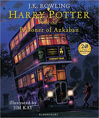 Harry Potter and the Prisoner of Azkaban: Illustrated Edition, JK Rowling (Author), Jim Kay (Illustrator), £15, Amazon