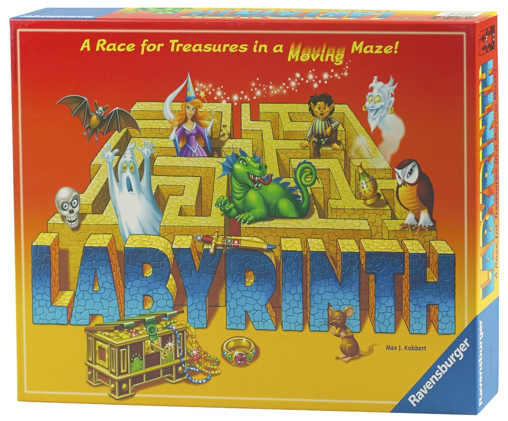 Labyrinth, £14.99, Amazon