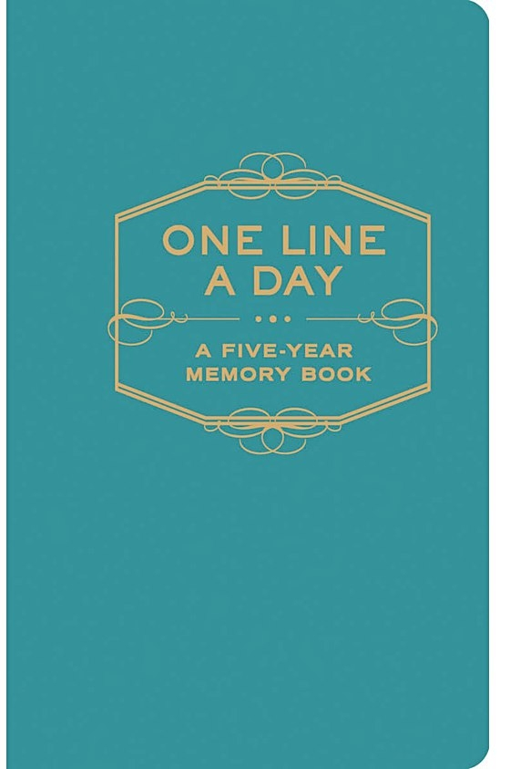 One Line A Day: A Five Year Memory Book, £6, Oliver Bonas