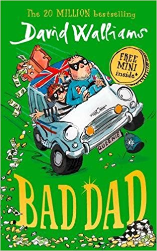 Bad Dad, David Walliams, £5, Amazon (Hardcover)