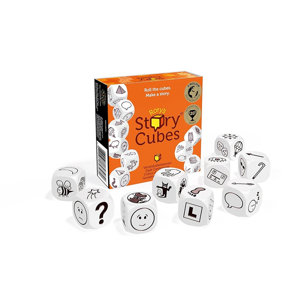 Rory's Story Cubes, £9.99 by The Creativity Hub, Amazon