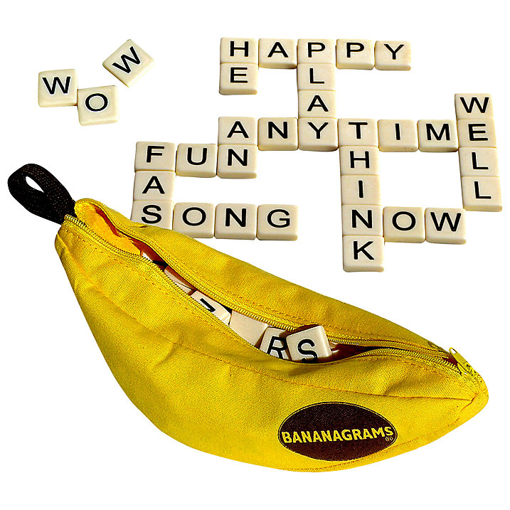 Bananagrams, £13.99, John Lewis