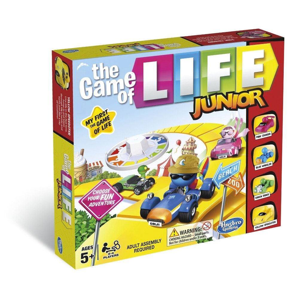The Game of Life Junior, £11.99, Amazon
