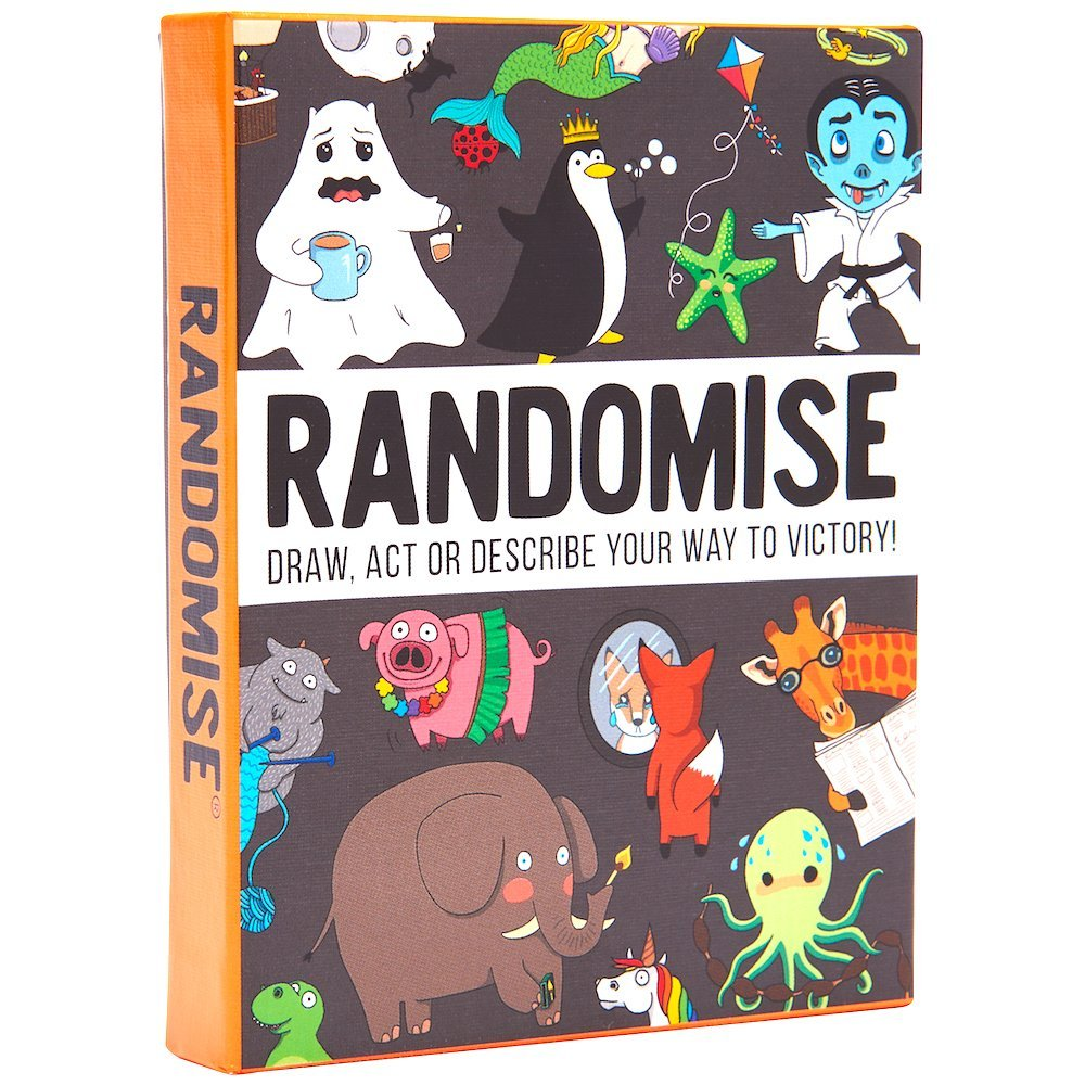 Randomise: Draw, Act or Describe Your Way to Victory, £11.99, Amazon
