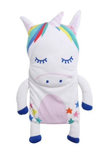 Unicorn Star Hot Water Bottle, £15, Paperchase