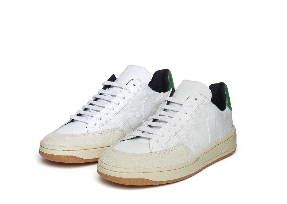 Veja V-12 in white, £100, Albam Clothing