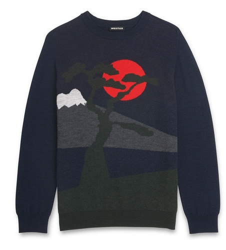 Landscape Sweater, £149, Whistles