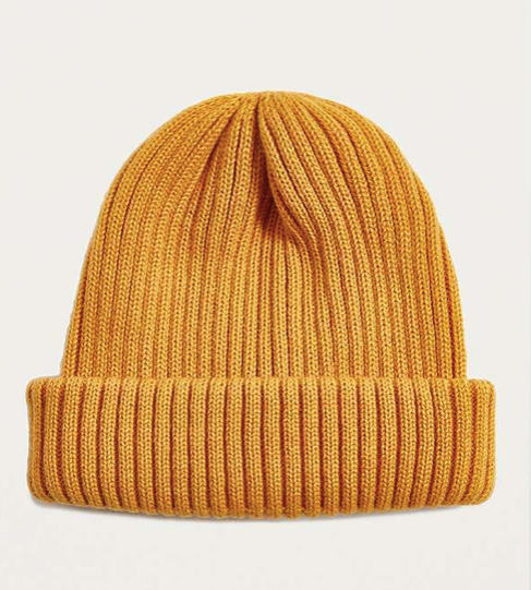 Mustard Beanie, £18, Urban Outfitters