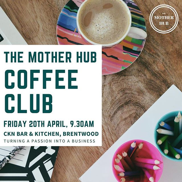 There are still tickets available for Friday's Coffee Club!  We'll be chatting to @kikamitchellphotography and @wonderland_invites about their inspirational career journeys, but you don't need to be thinking about starting a business to come along! Mainly we'll be drinking coffee, eating cake and soaking up a bit of much-needed motivation from these lovely ladies! ☕️🍰💫 Come join us, we'd love to see you there ☺️ Link to tickets in our bio! #themotherhubcoffeeclub #themotherhub #essexmums #brentwoodmums #brentwoodessex