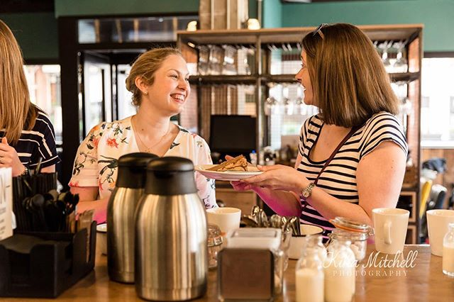 Don't forget the next Mother Hub Coffee Club is THIS Friday morning at @ckn.barandkitchen 😄 We'll be chatting about 'rediscovering yourself in motherhood' with the very lovely @mrsemilynorris and @alongcamejay ❤️ And, most importantly, we'll be drinking coffee ☕️ eating cake 🍰 and meeting some lovely mums!  Who's in?! Link to tickets in our bio, you can still nab one if you're quick! 📸 taken at our last event by @kikamitchellphotography  #themotherhub #themotherhubcoffeeclub #alongcamejay #emilynorris #motherhood