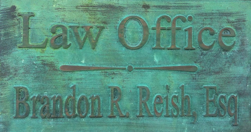 Law Office Sign, photo by Brandon R. Reish