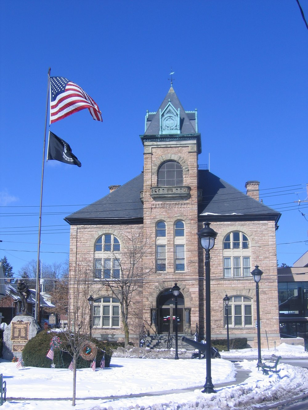 Monroe County Courthouse, photo by Brandon R. Reish
