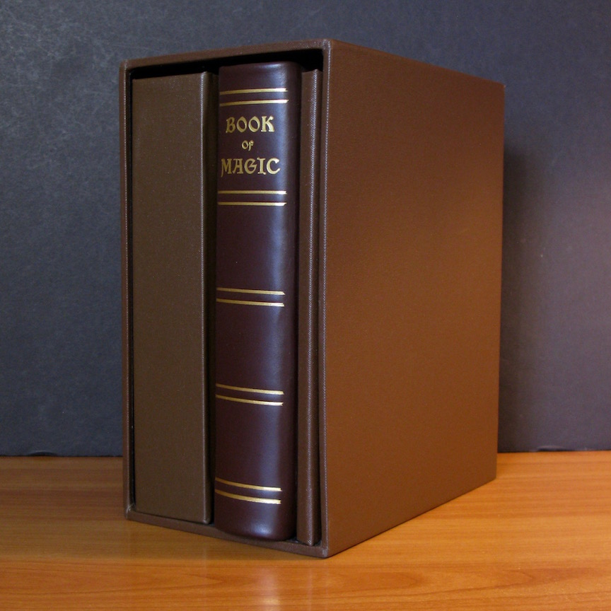 BOOK OF MAGIC (Limited to 196 Copies - 3 Volumes in Slipcase, with scrying mirror) by Herbert Irwin (Society of Esoteric Endeavour, 2014)