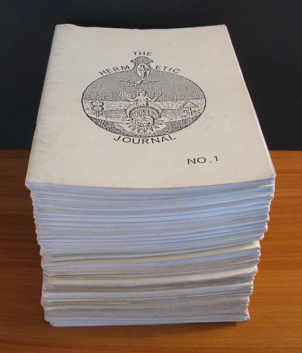 THE HERMETIC JOURNAL (Complete Run of 42 issues) edited by Adam Mclean (1978-1988)