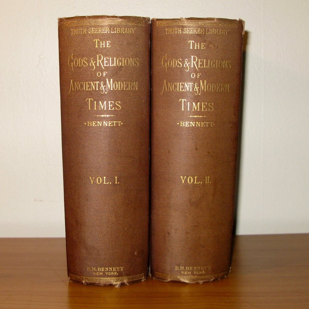 The Gods And Religions Of Ancient And Modern Times (2 Volumes) 1880