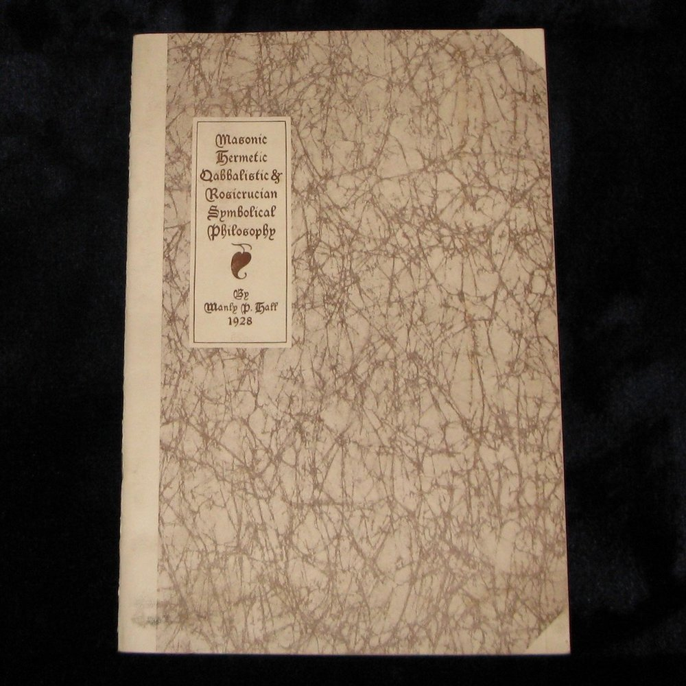 ORIGINAL PROSPECTUS for Manly P. Hall's 'The Secret Teachings of All Ages' (1928)