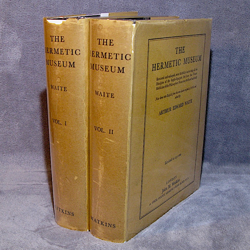 THE HERMETIC MUSEUM (1953) in Two Volumes, Edited by A. E. Waite (Limited Edition of 250 Sets)