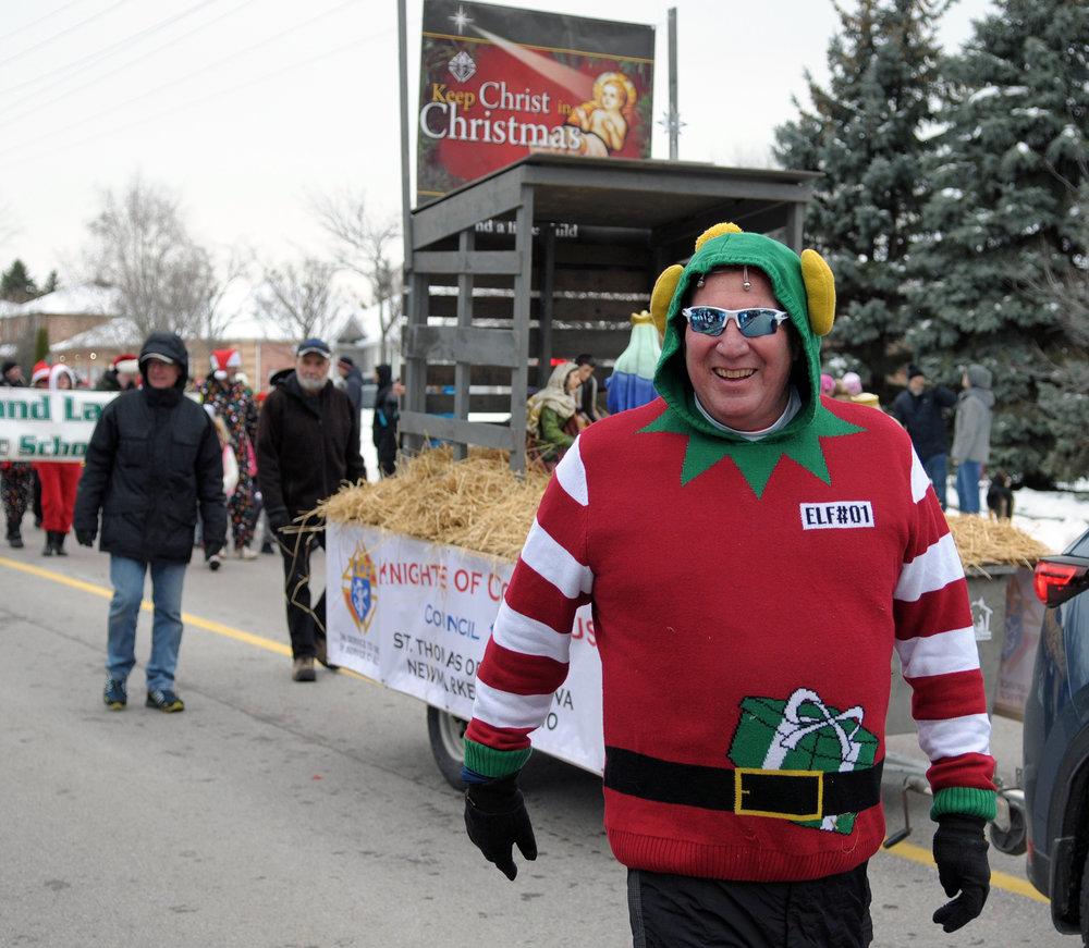 Sharon Christmas Parade 2018