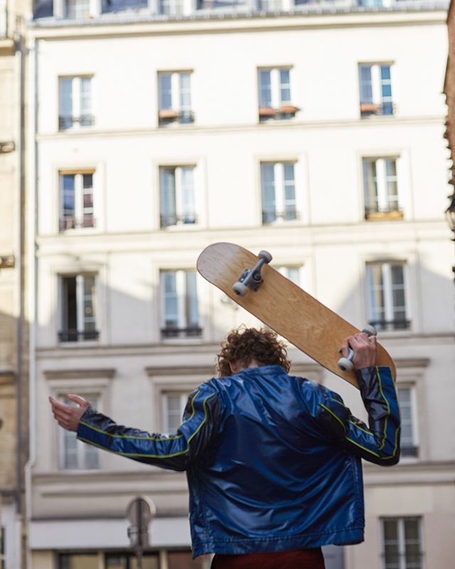 Freedom is a skateboard. Advertorial for @hermes Spring 2018 menswear collection ✌🏻