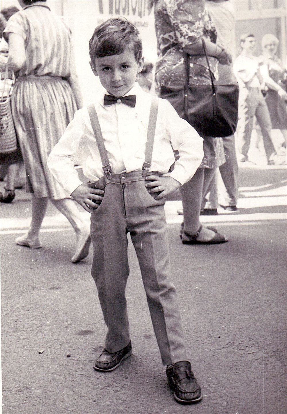 Kostya Kimlat as a child in Kiev, Ukraine in the Soviet Union.