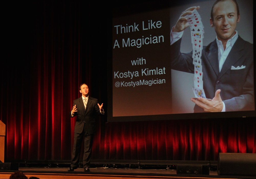 Orlando motivational speaker and keynote speaker Kostya Kimlat delivers the keynote address for conventions, conferences and meetings.