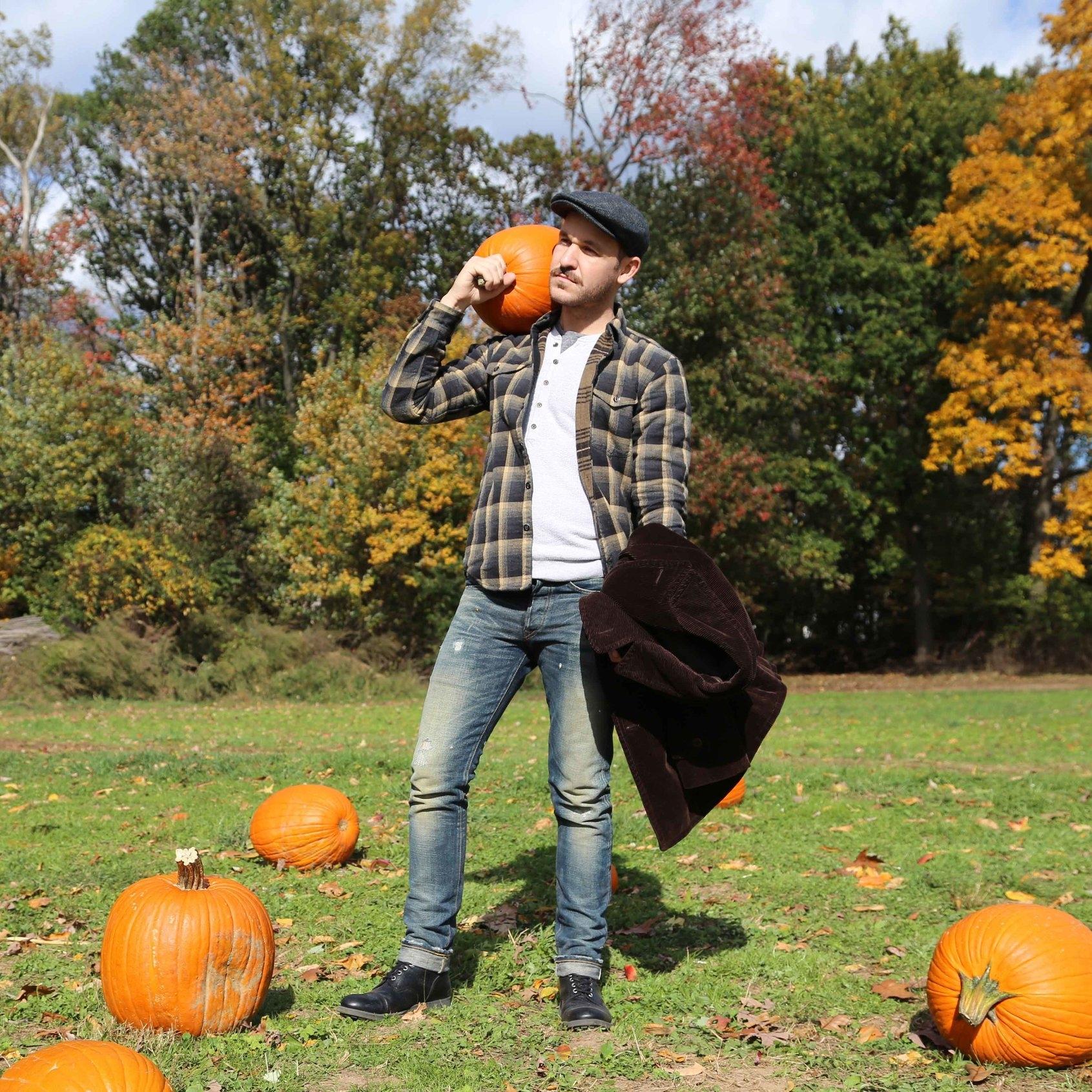 Gay pumpkin boy
